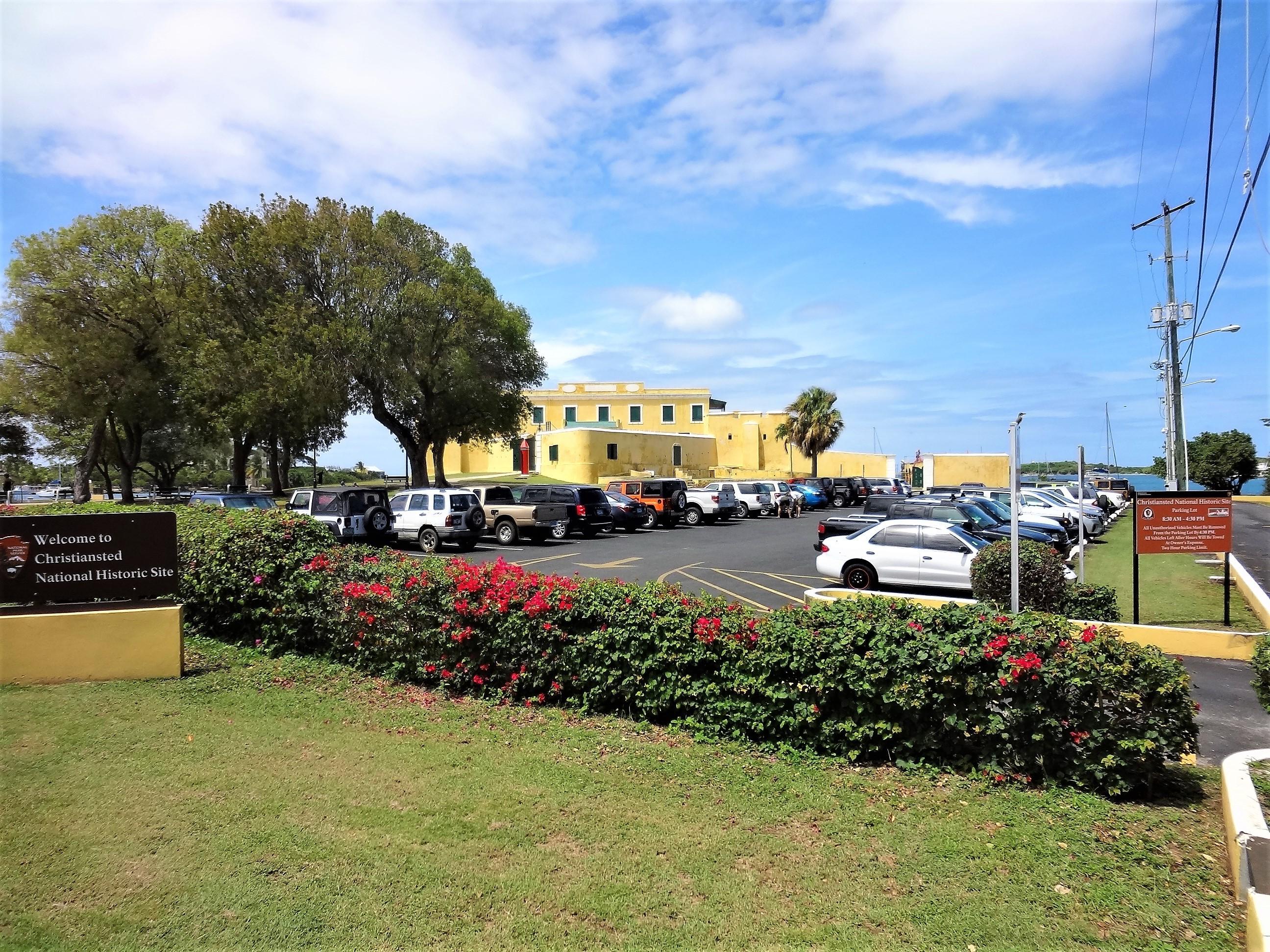 Fort Parking Lot