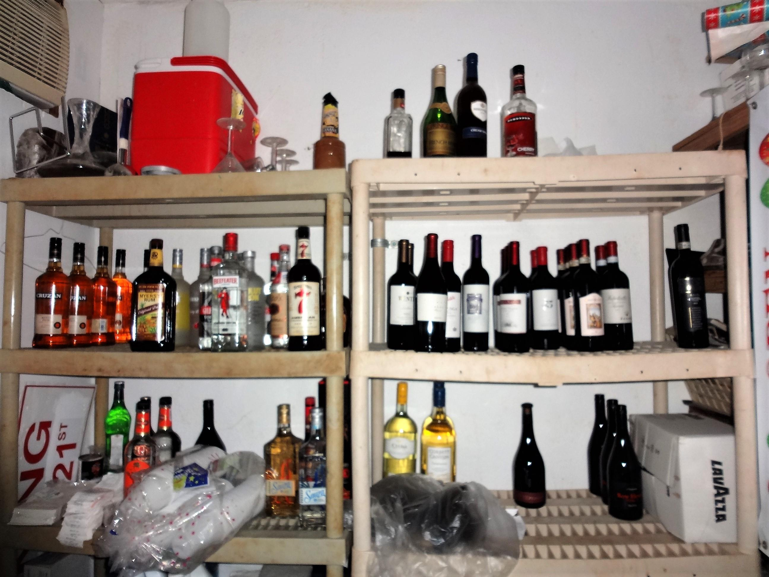 Office-Liquor Storage