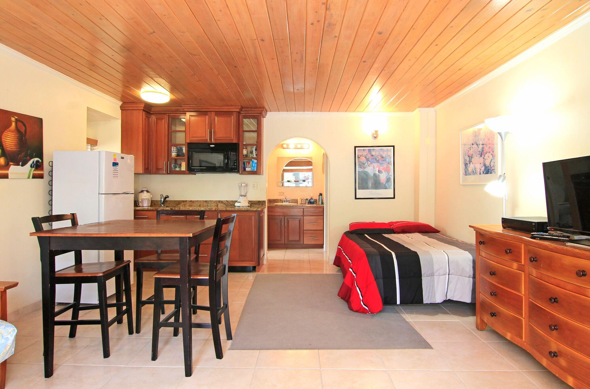 Studio Living Area Overview