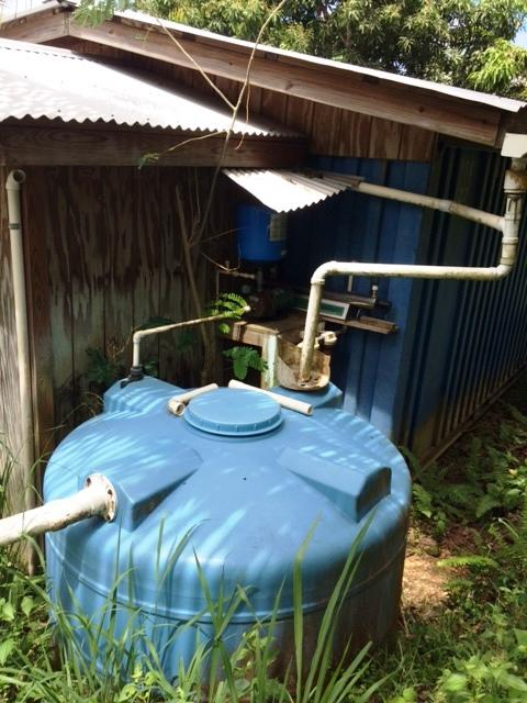 Cabin Cistern & Pump