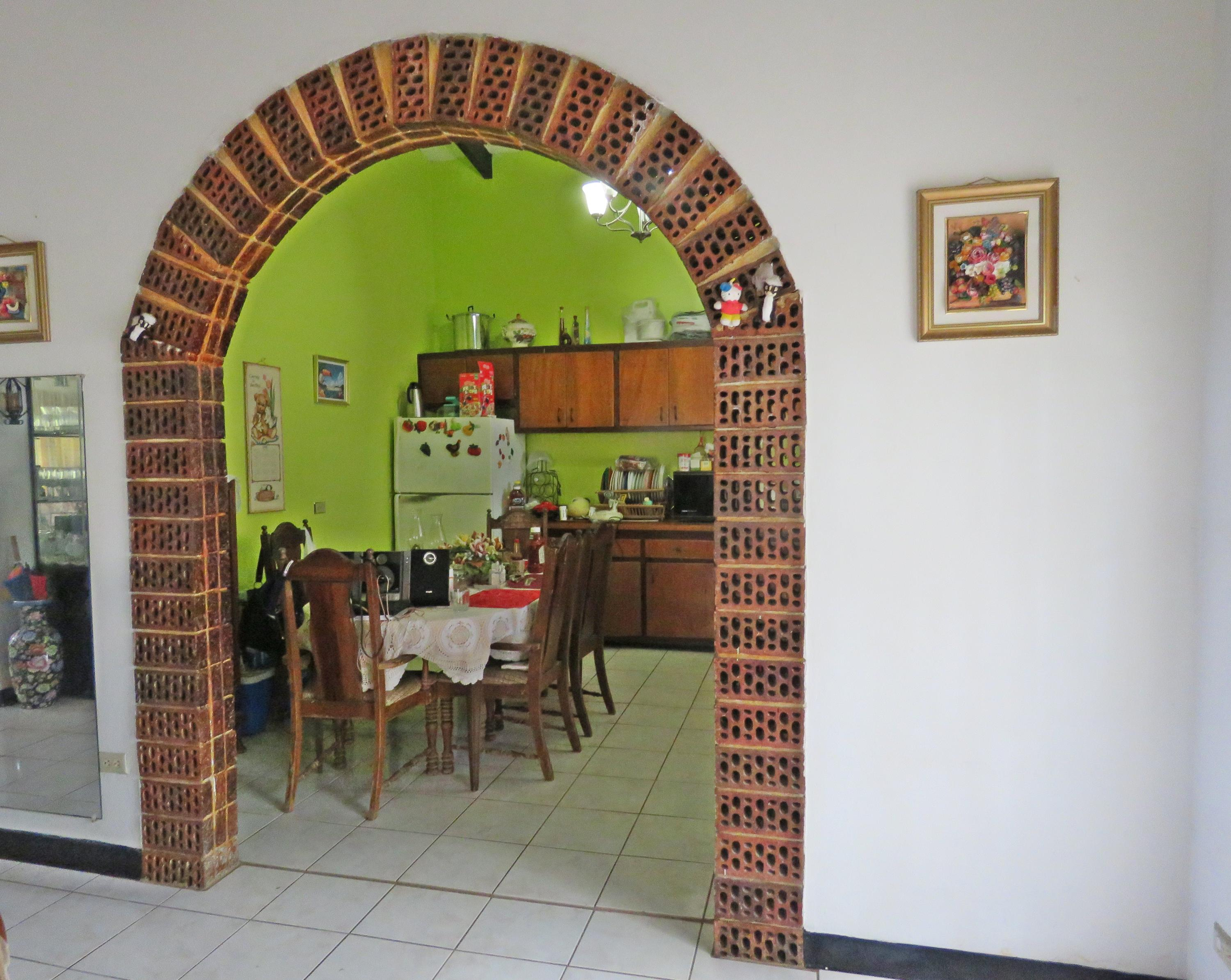 Kitchen doorway