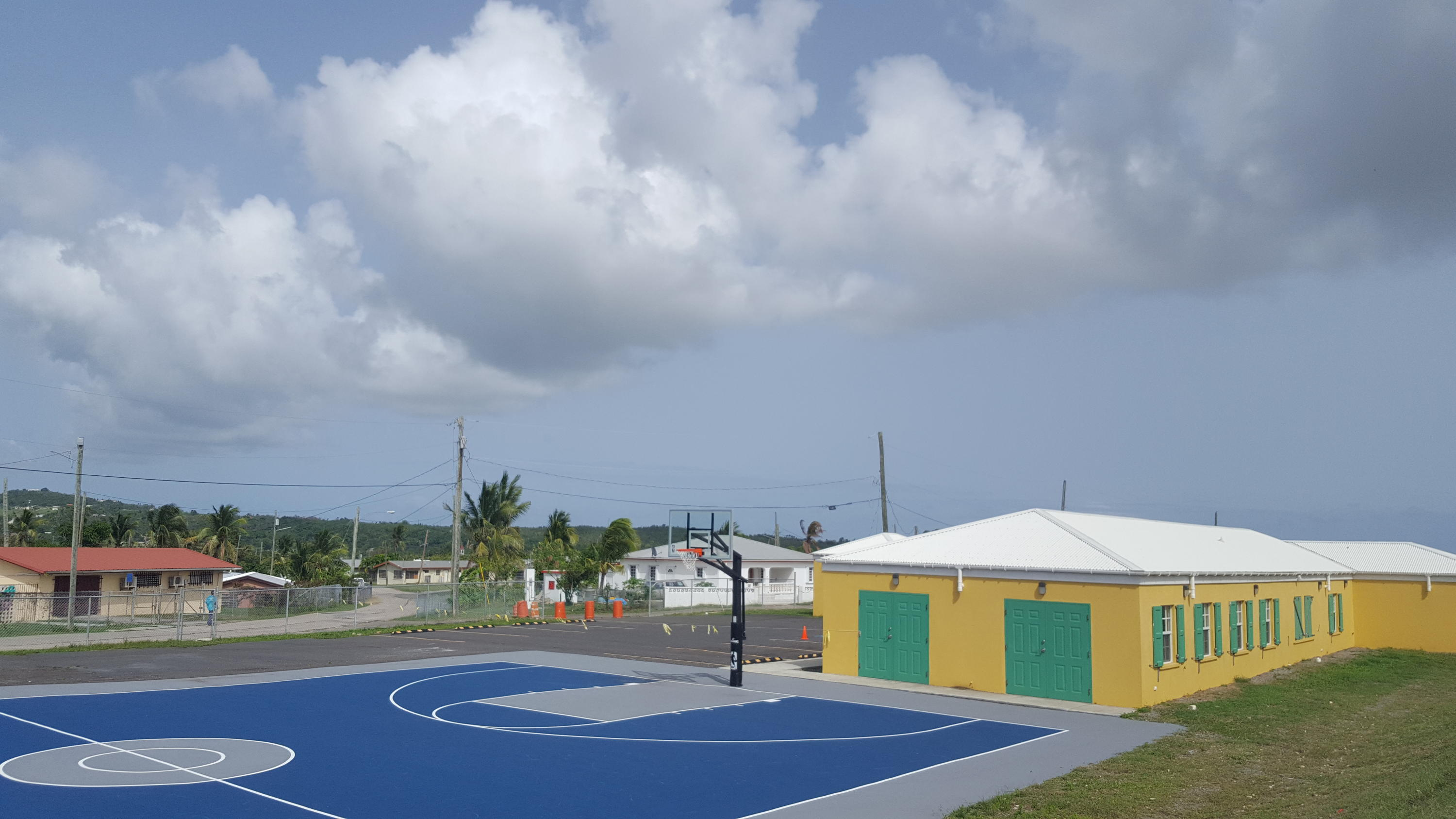 New basketball court for all to use