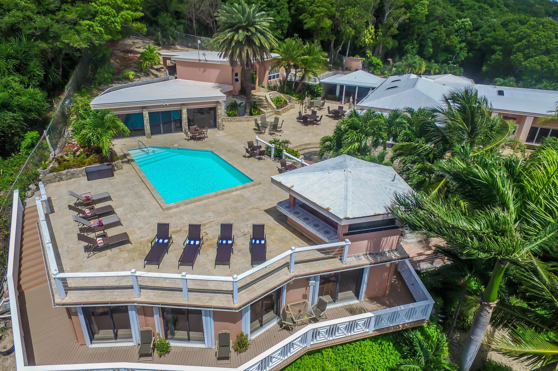 Pool & Apartment Below Pool