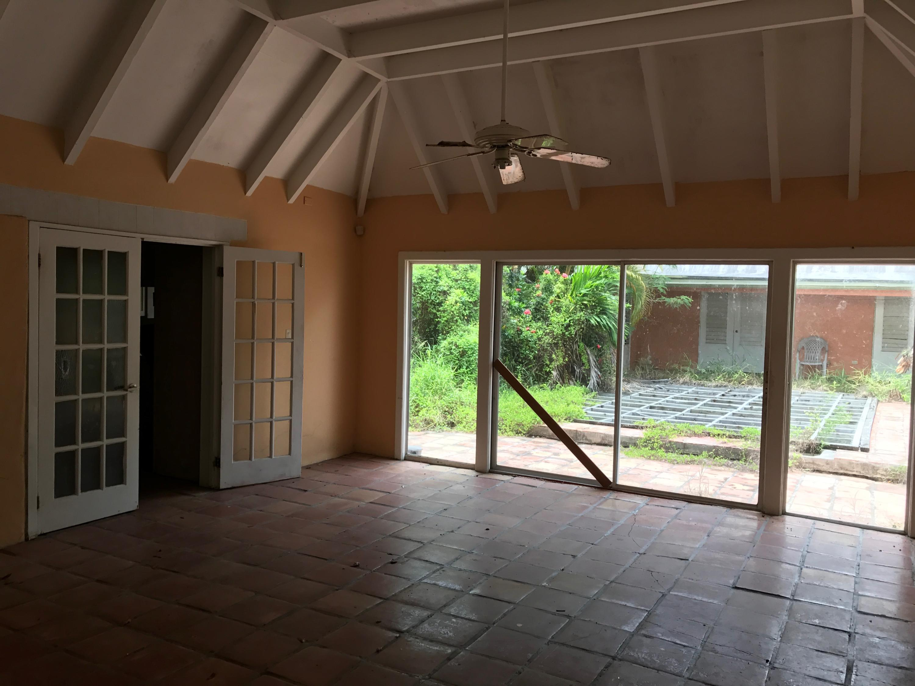 Living Room Looking out to Pool