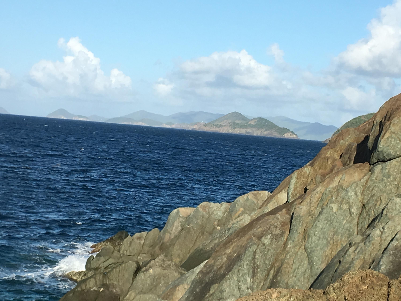 Coastline Looking Down Island