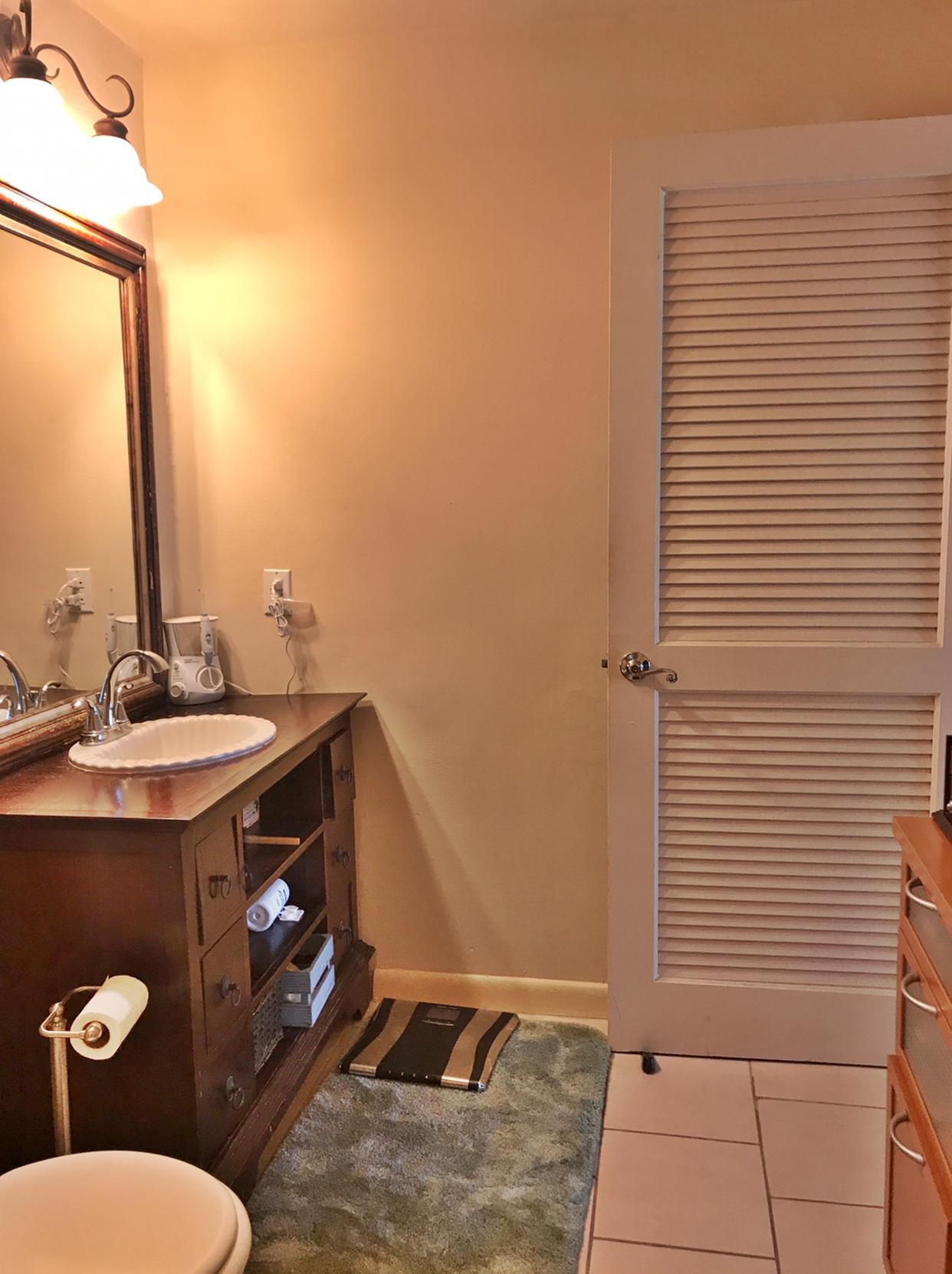 Lower level suite bathroom