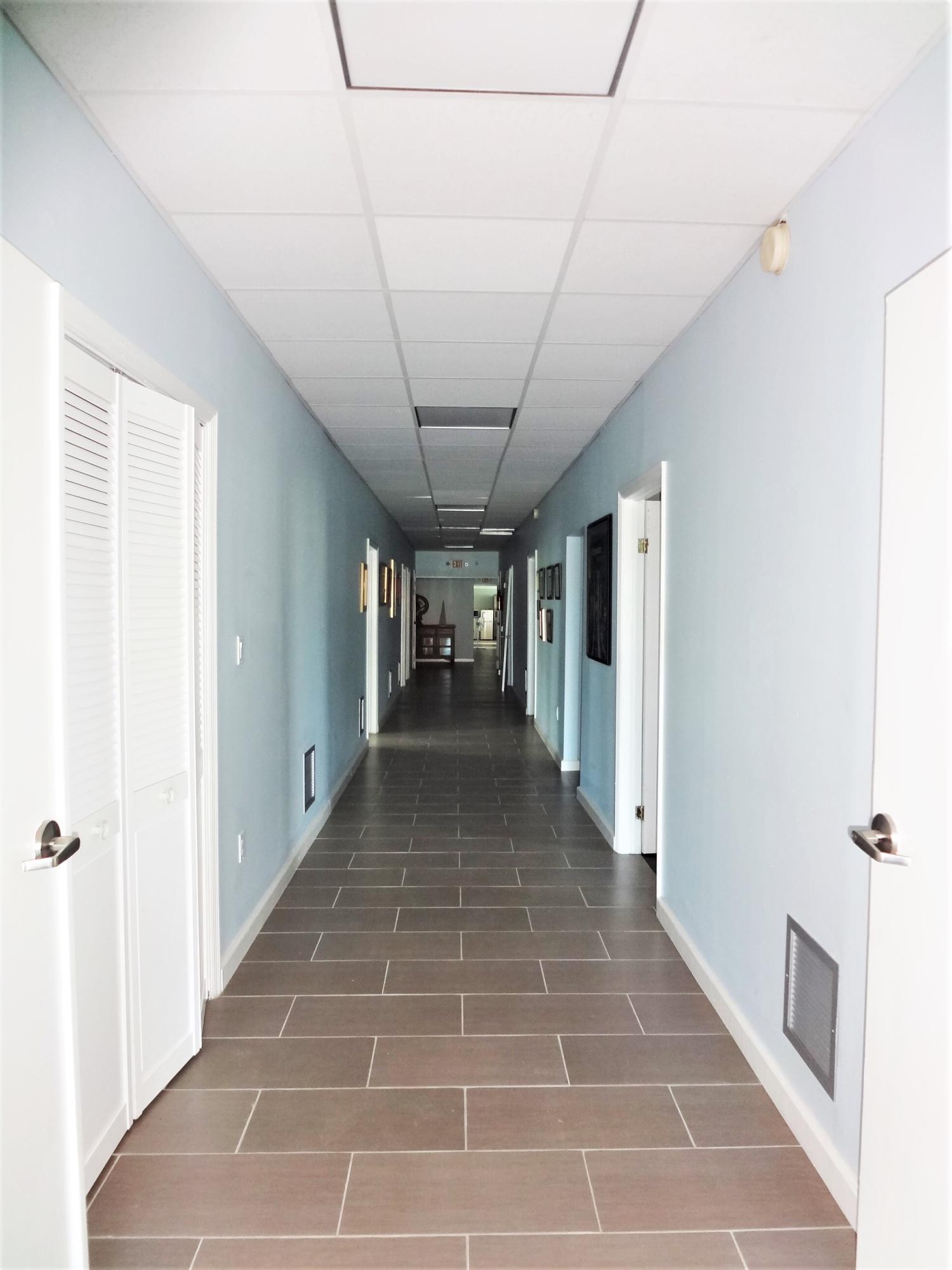Hallway to Rooms Suite 1