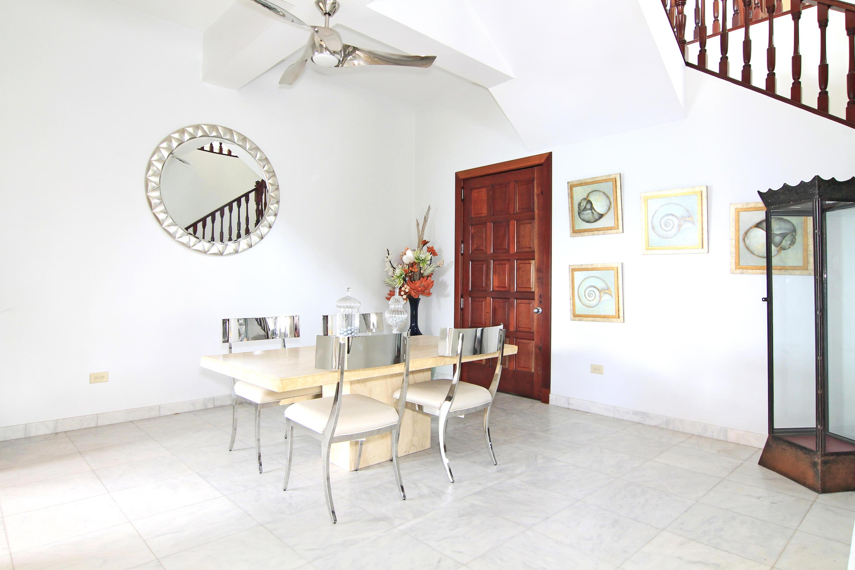 Stairwell  dining nook