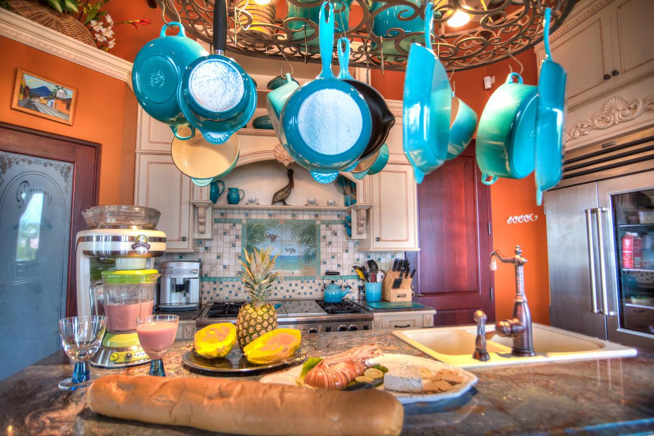Chef's dream kitchen
