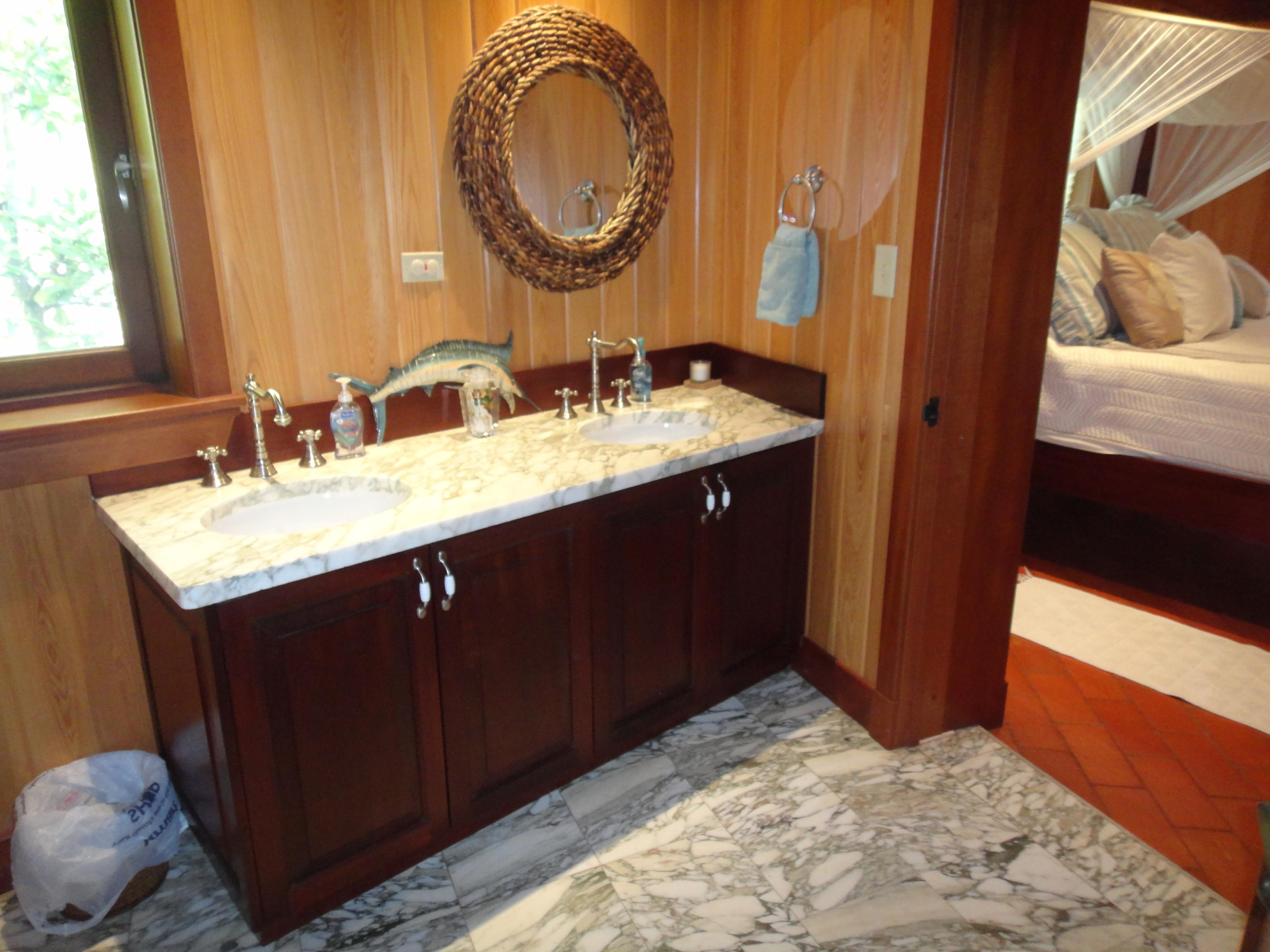 His and her sinks bathroom 2
