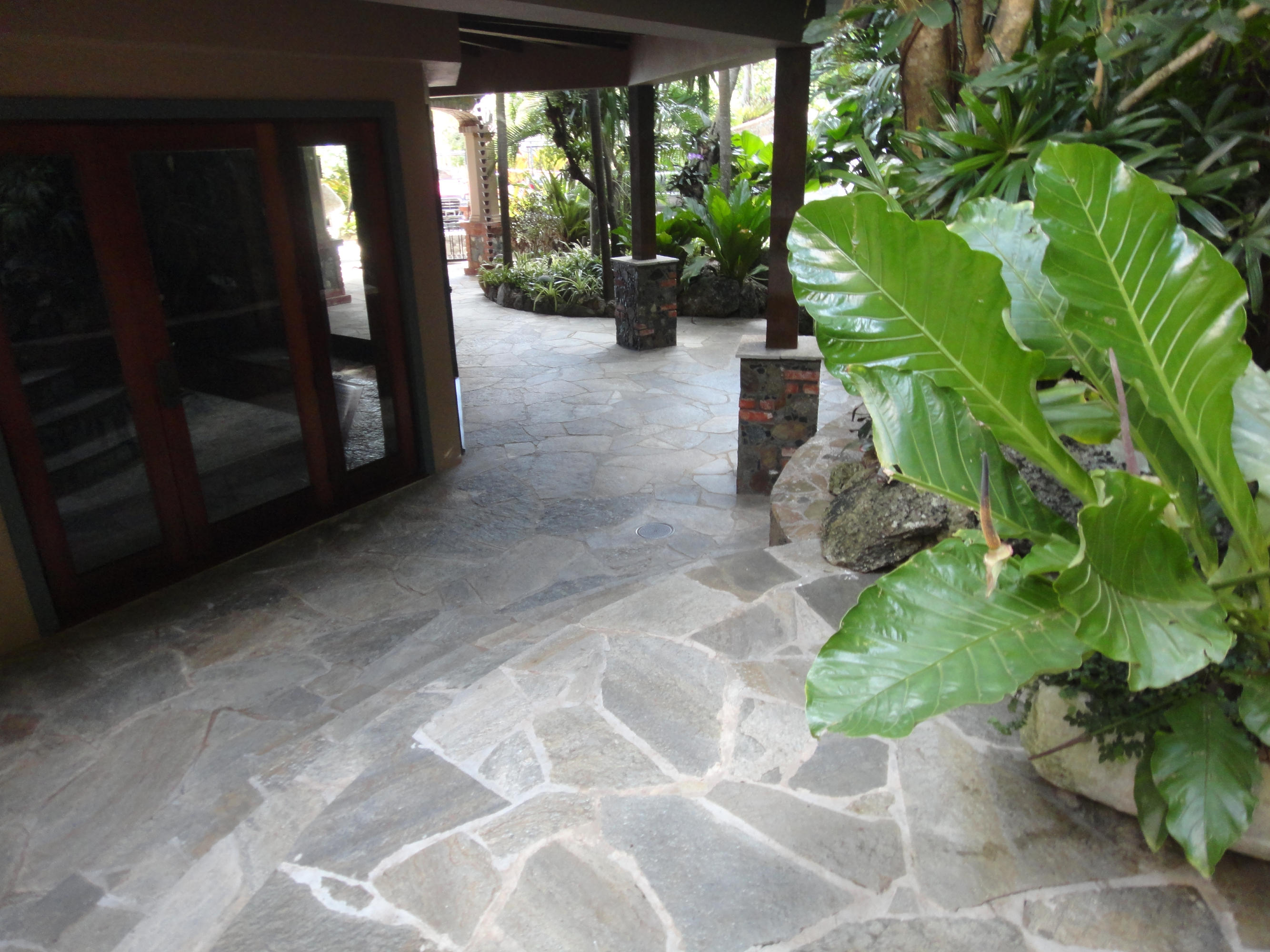 Kitchen entrance and walkways