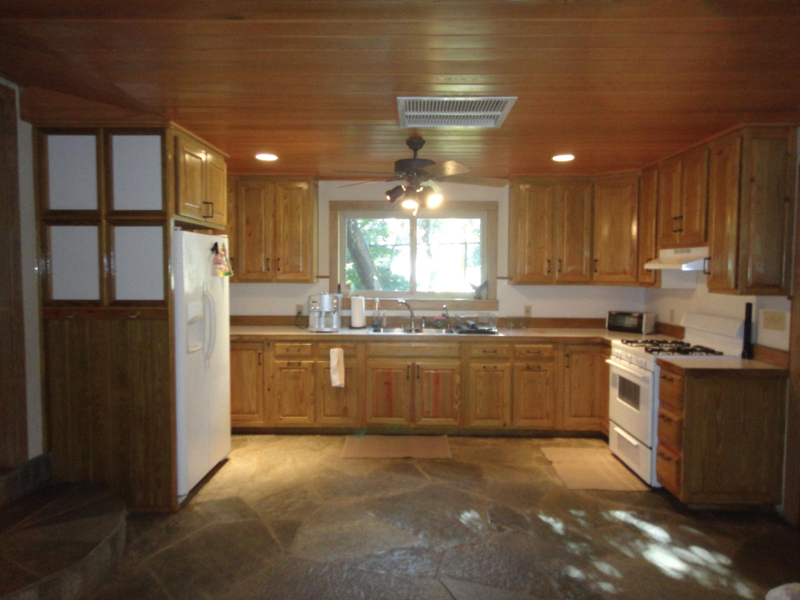 Gate House/family office kitchen