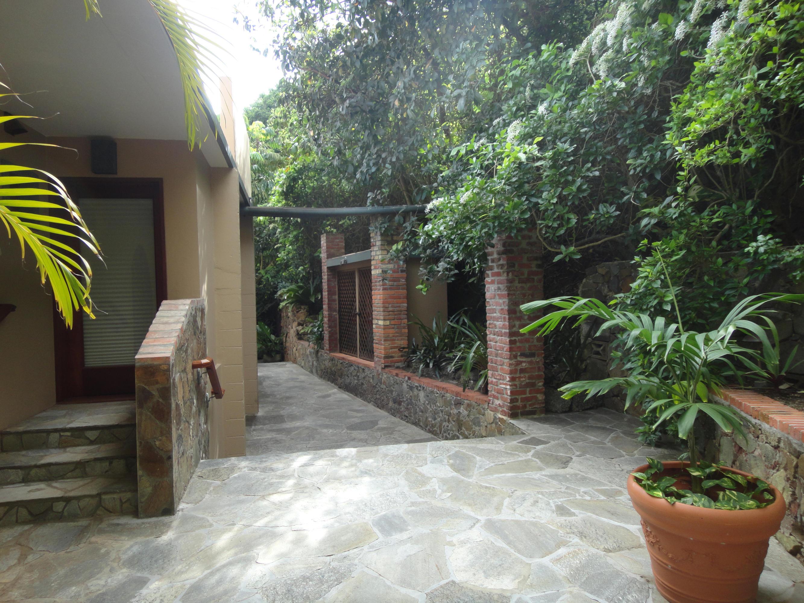 Main house walkways