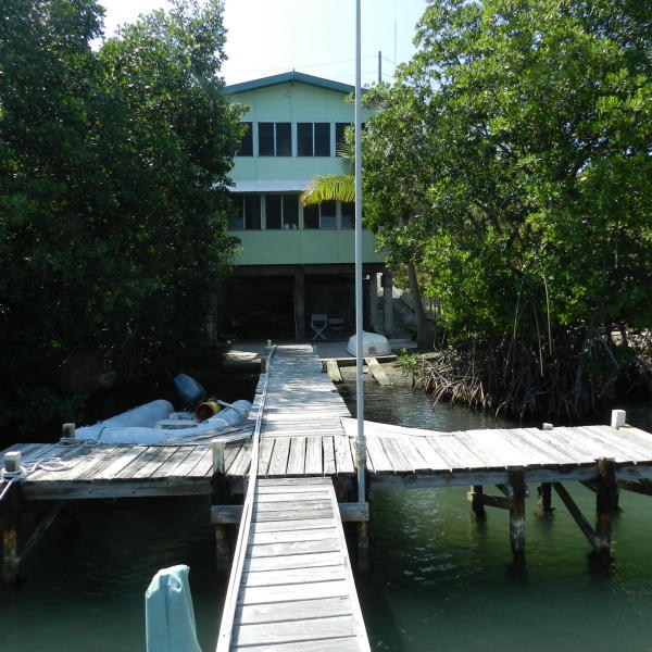 Building from dock, pre hurricane