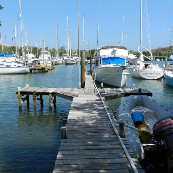Dock pre hurricane