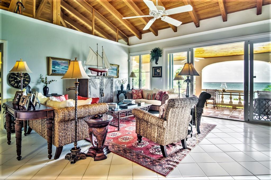 Tastefully Designed Living Area