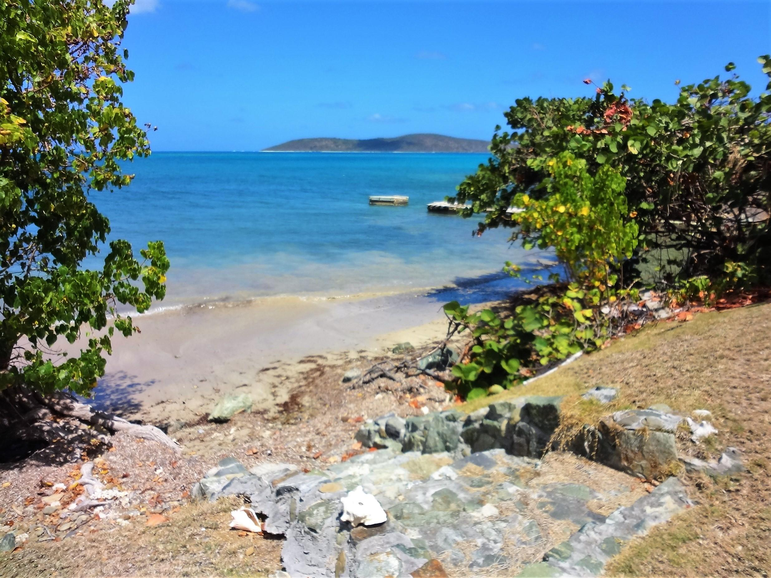 Steps from Yard to Sandy Beach!
