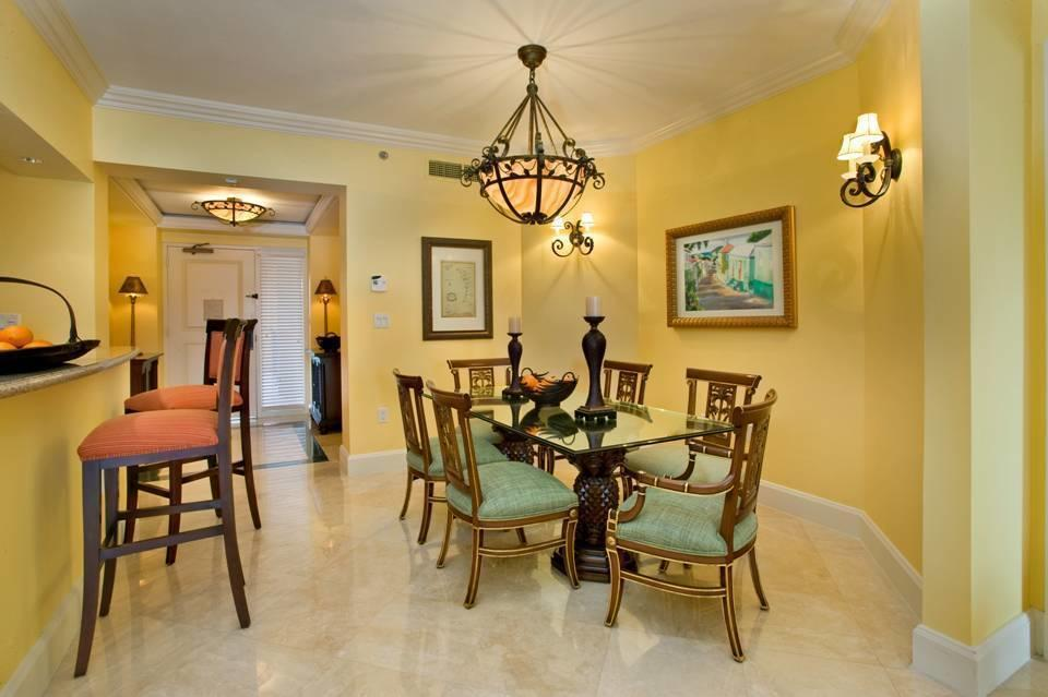 View of Kitchen Dining area