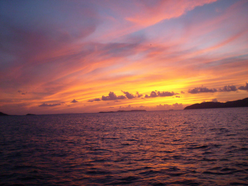 Sunset from Papaya