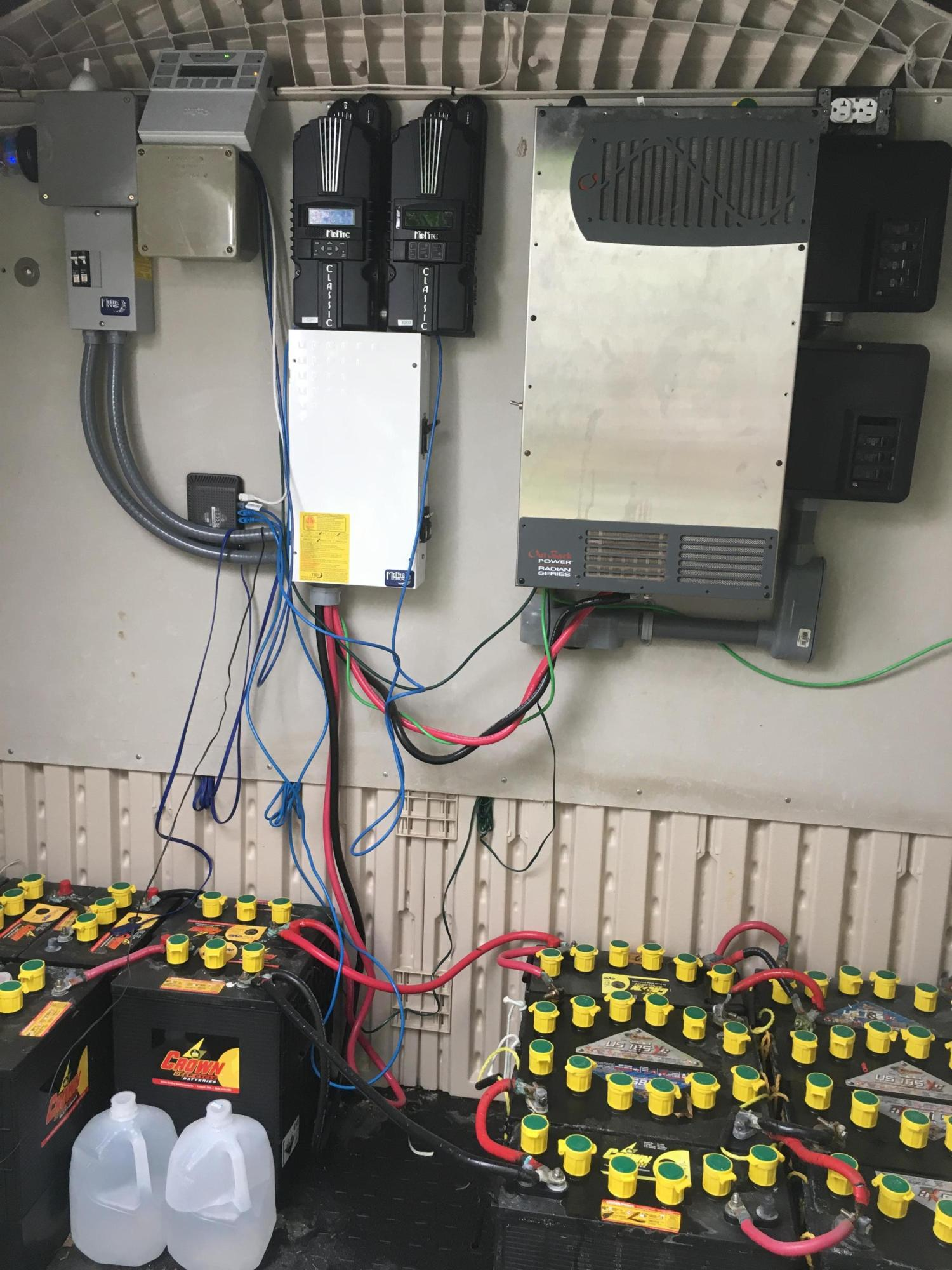 Solar system&batteries