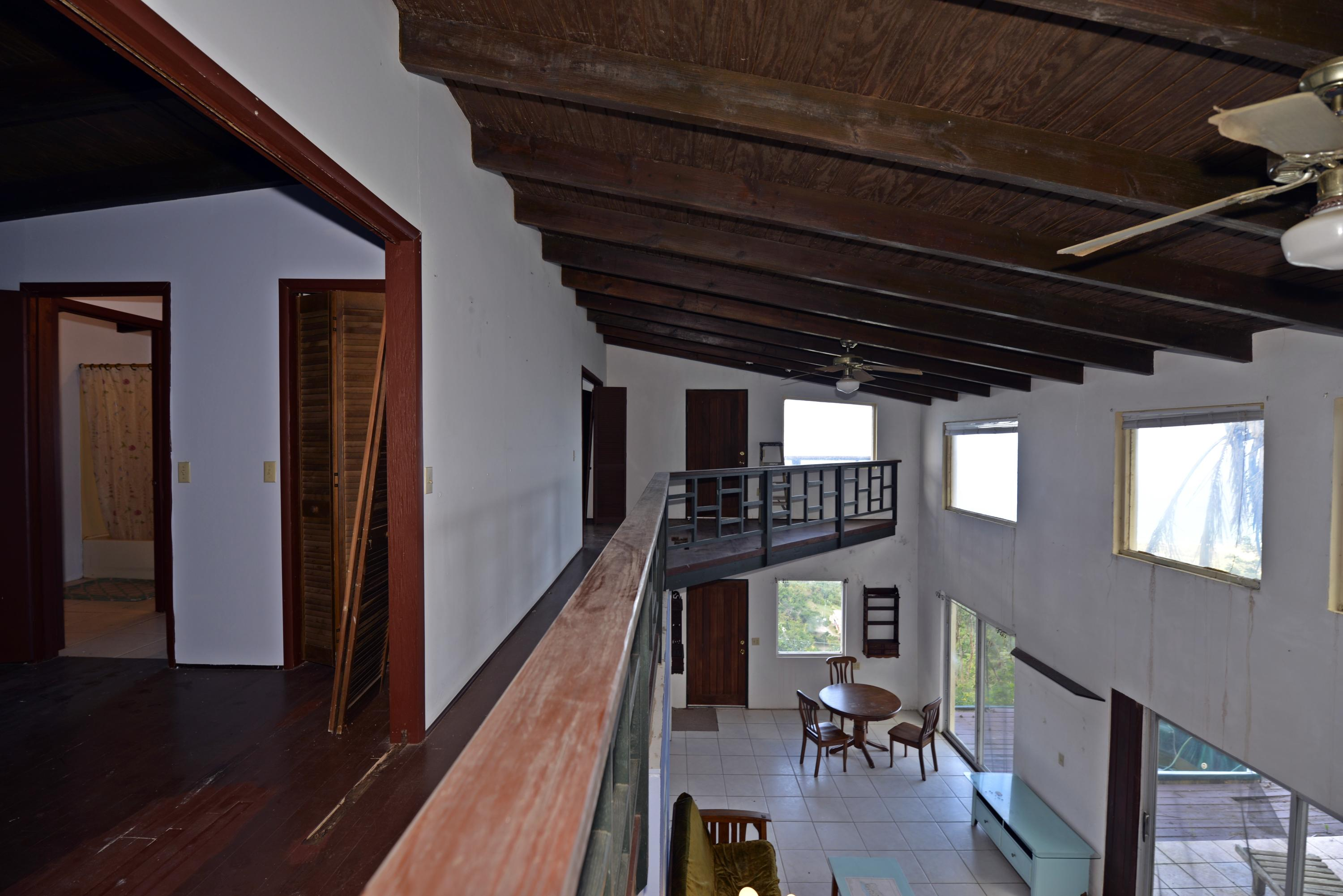 View from upper level stairwell