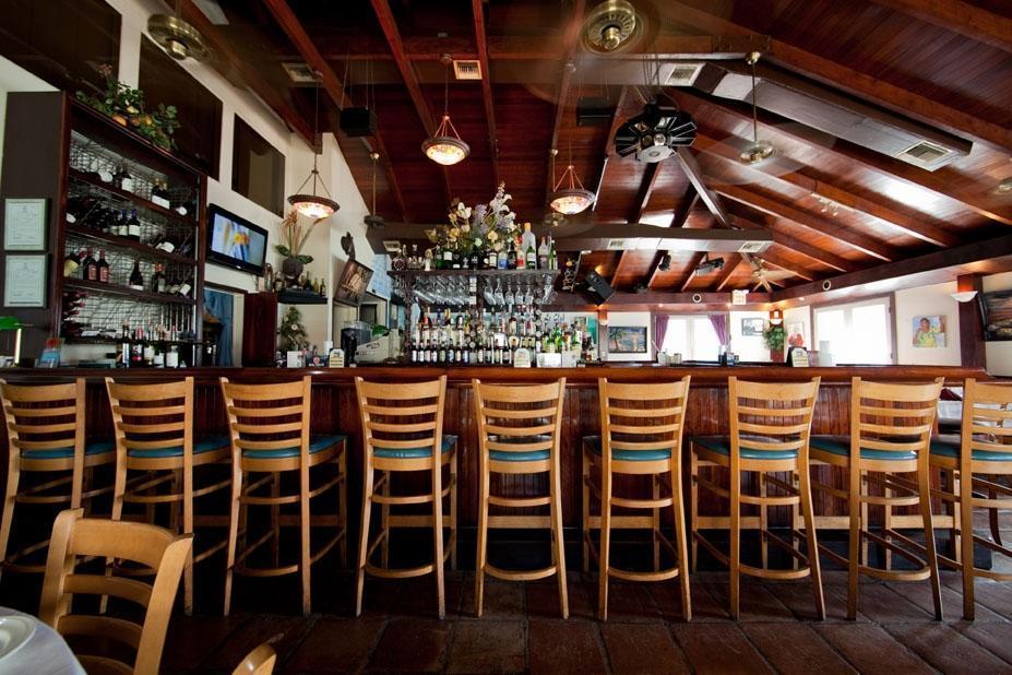 lots of bar stools