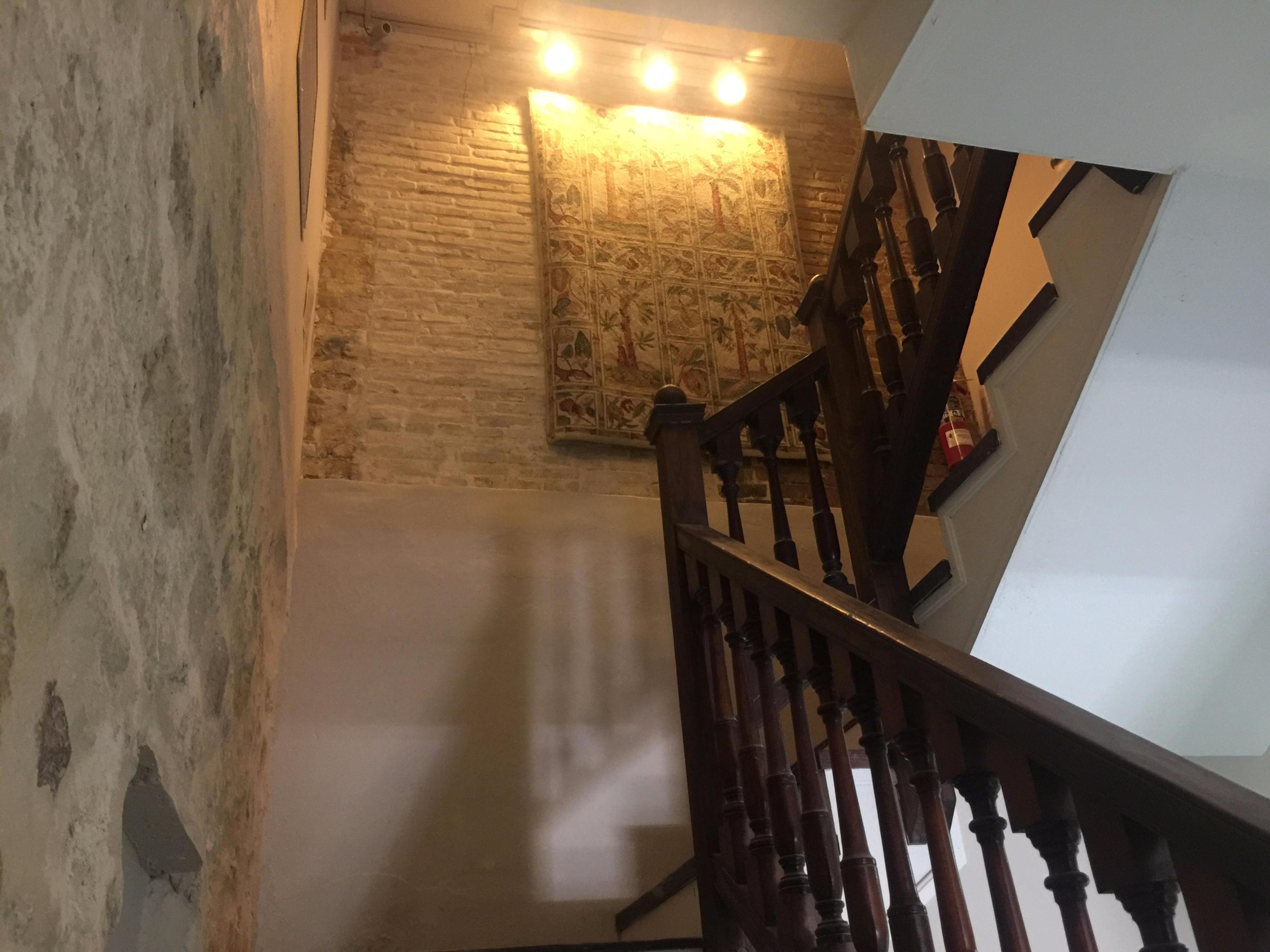 Going towards the 2nd Floor