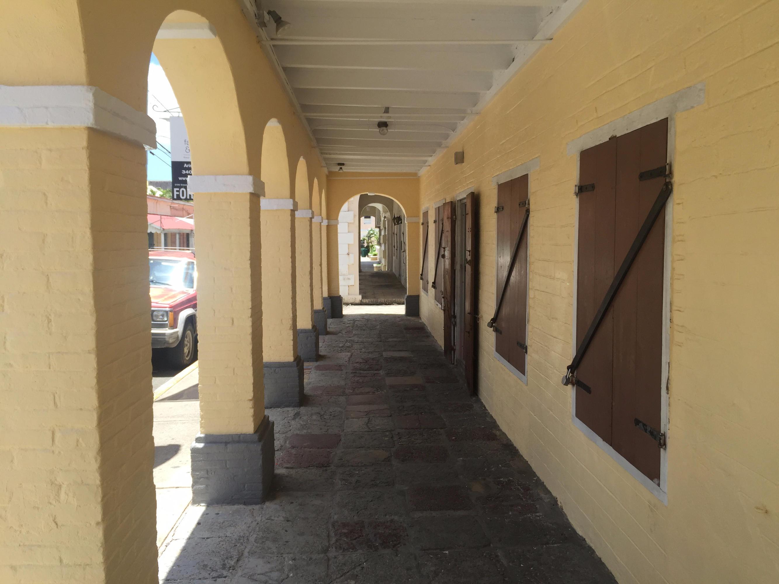 Outside walk way