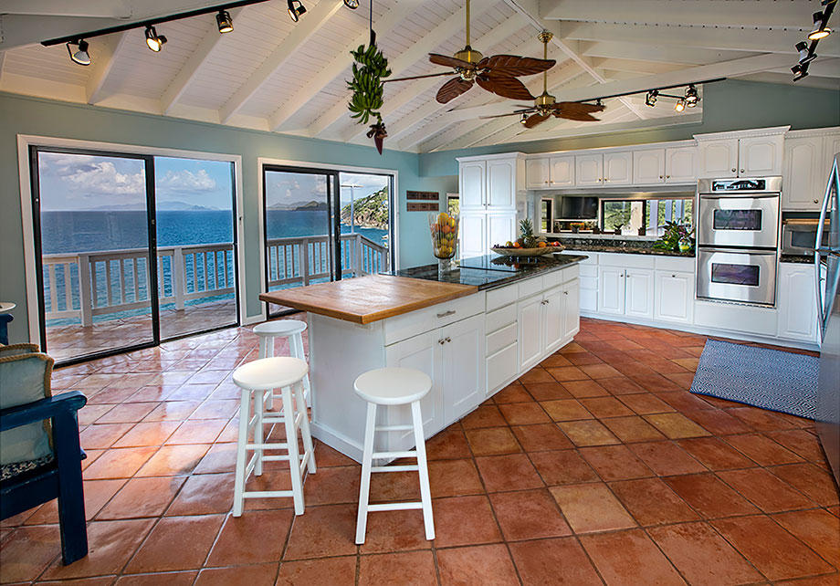 Kitchen with a view!
