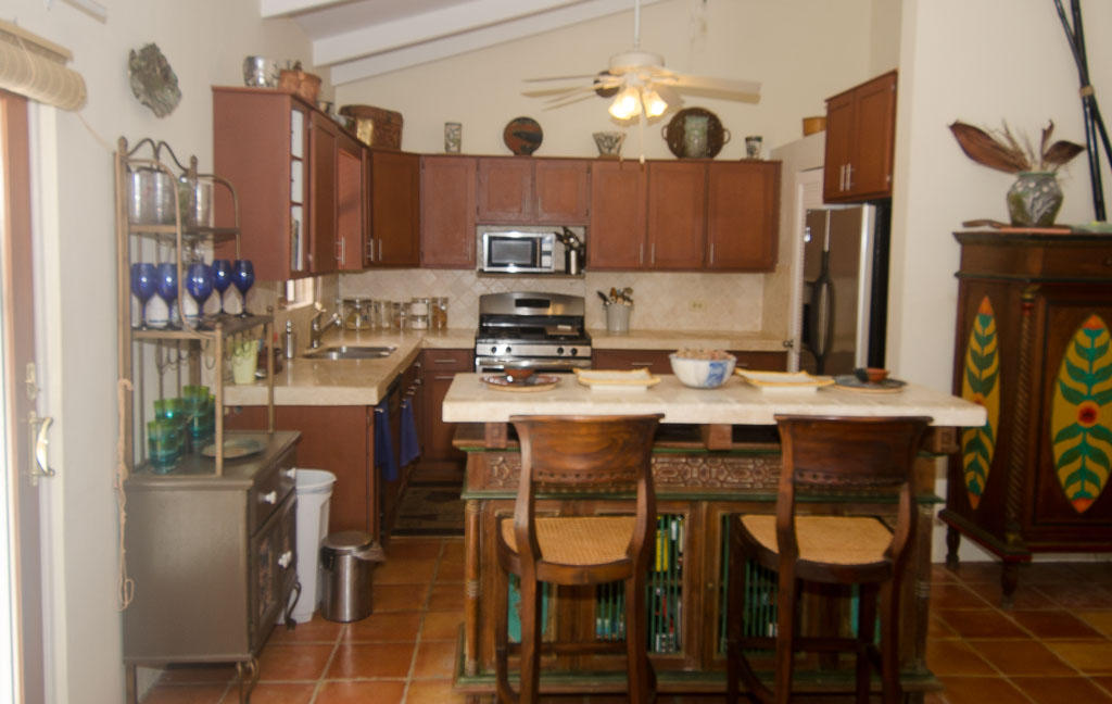 Pristine Travertine Kitchen
