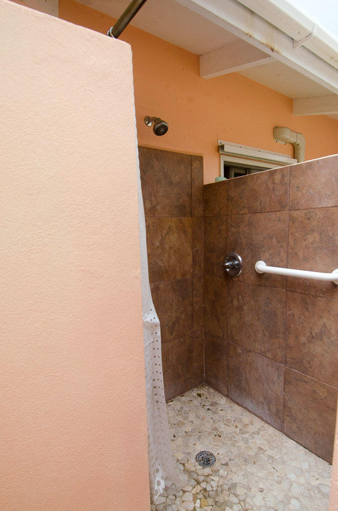 Custom Full Bath Outdoor Shower