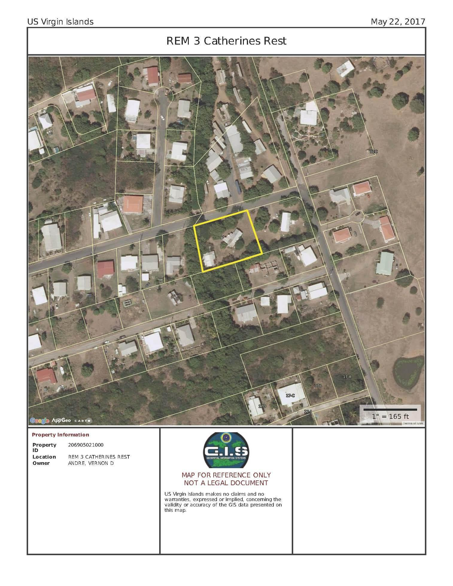 Aerial Map of Property