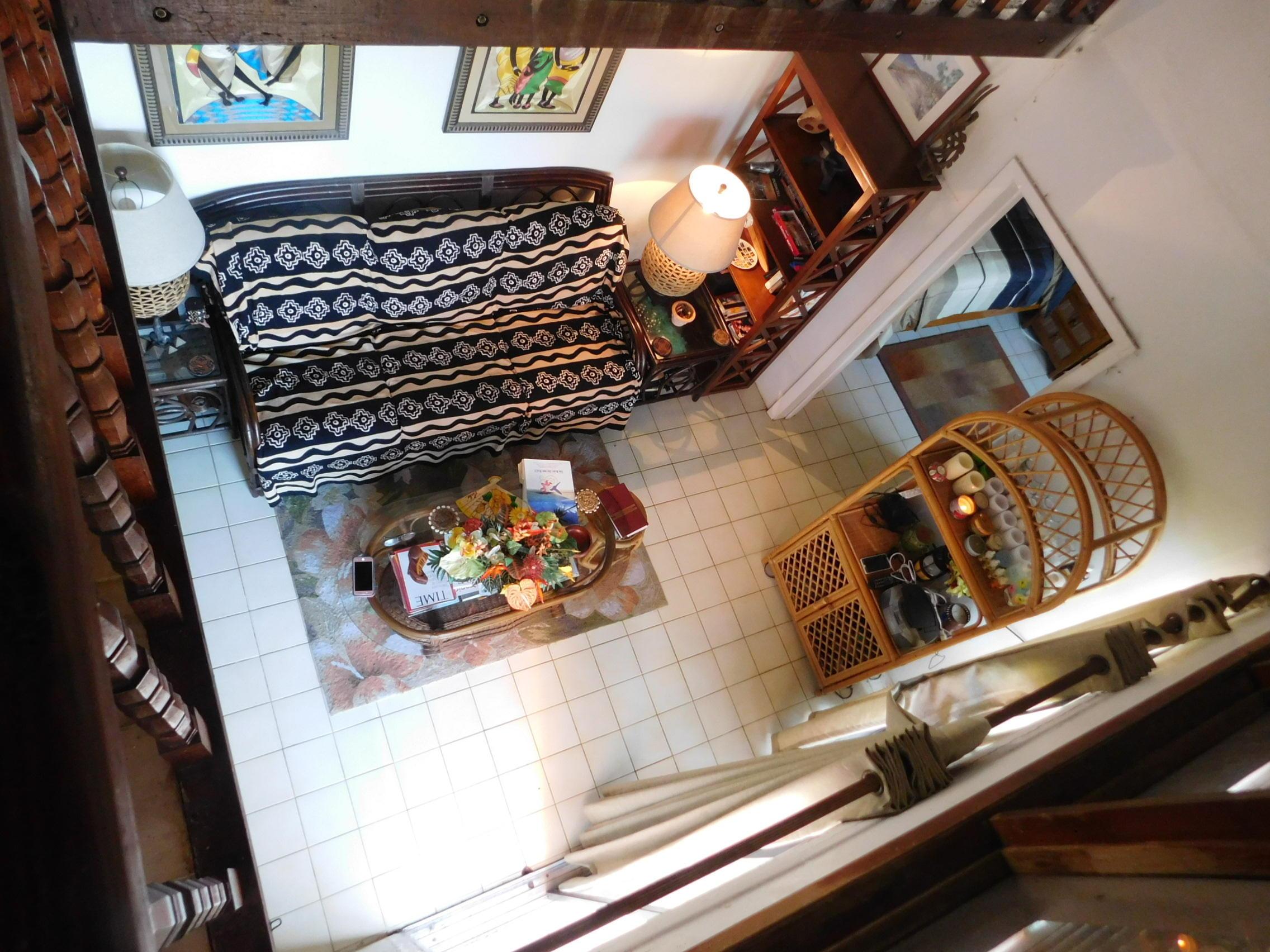 Livingroom from above