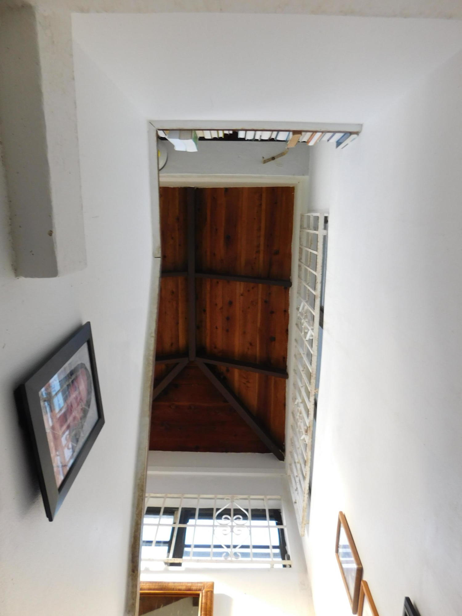 stairwell to roof
