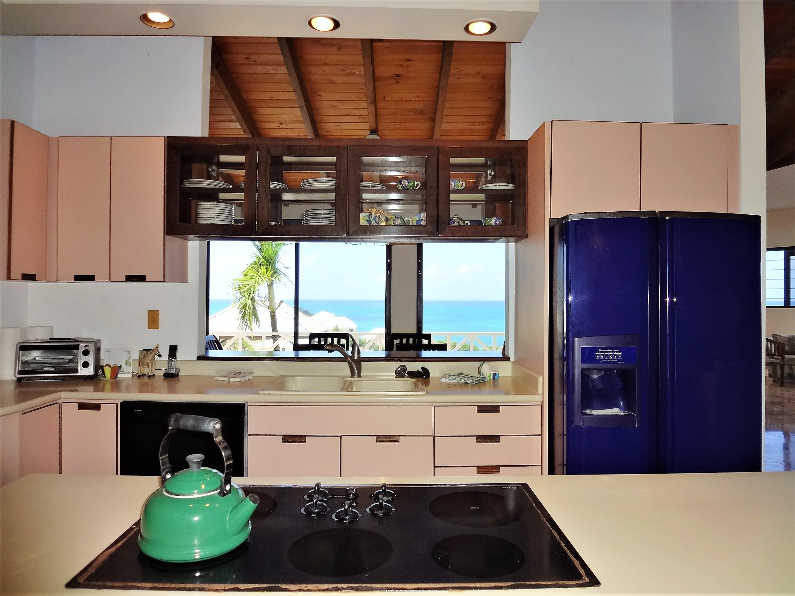 Kitchen w/ Sea Views!