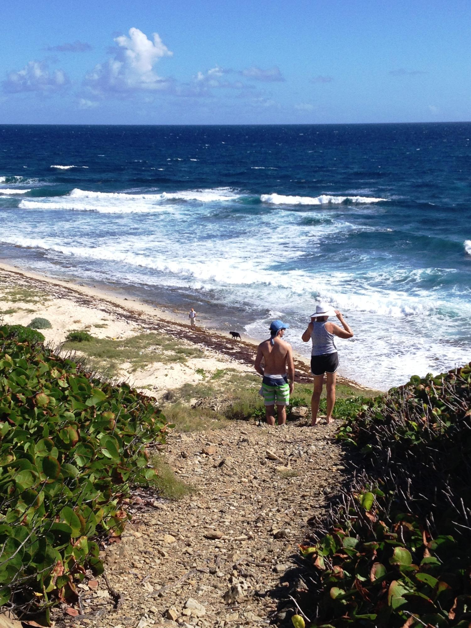 Issac's Bay and easy hike