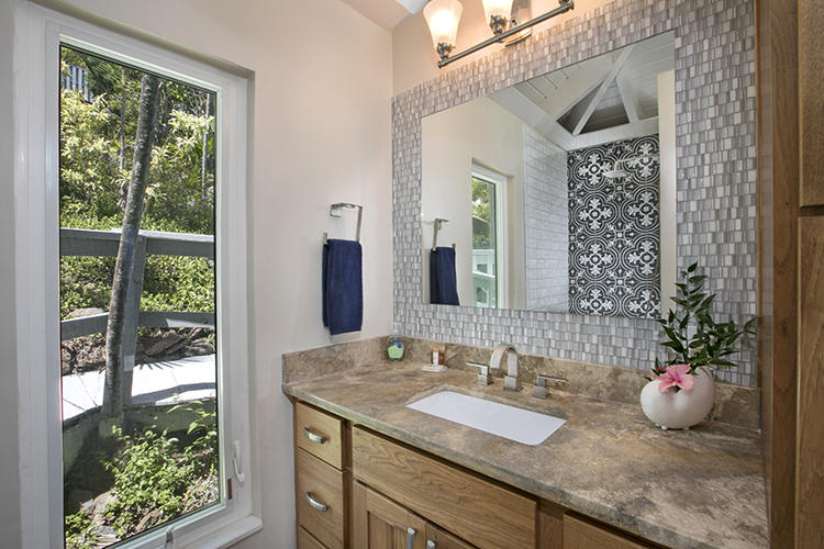 Beautifully renovated Guest Bath