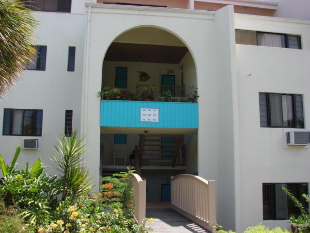 Condo entrances