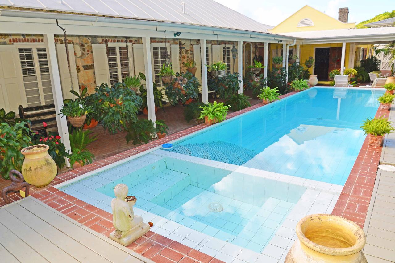 Pool entry