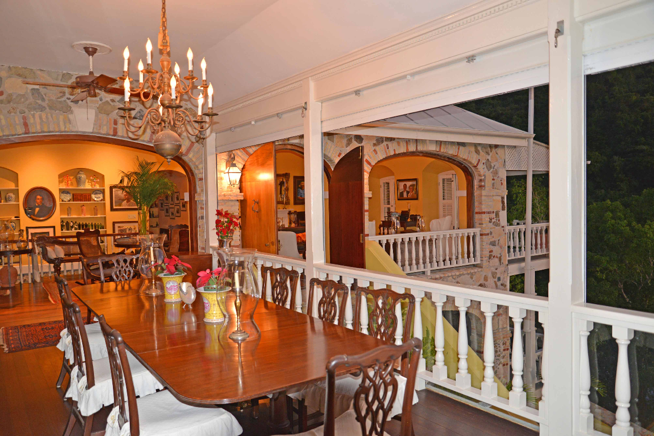 Dining Gallery with view to parlor