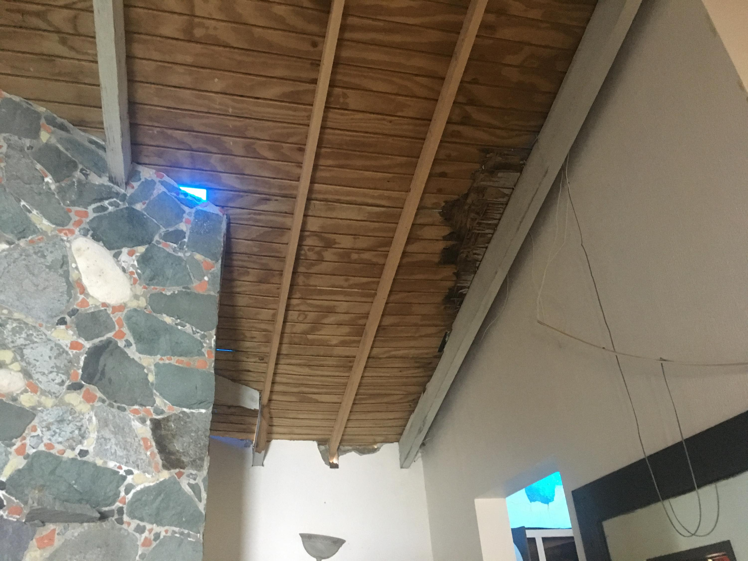 Roof damage
