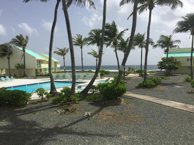 View to pool and Ocean