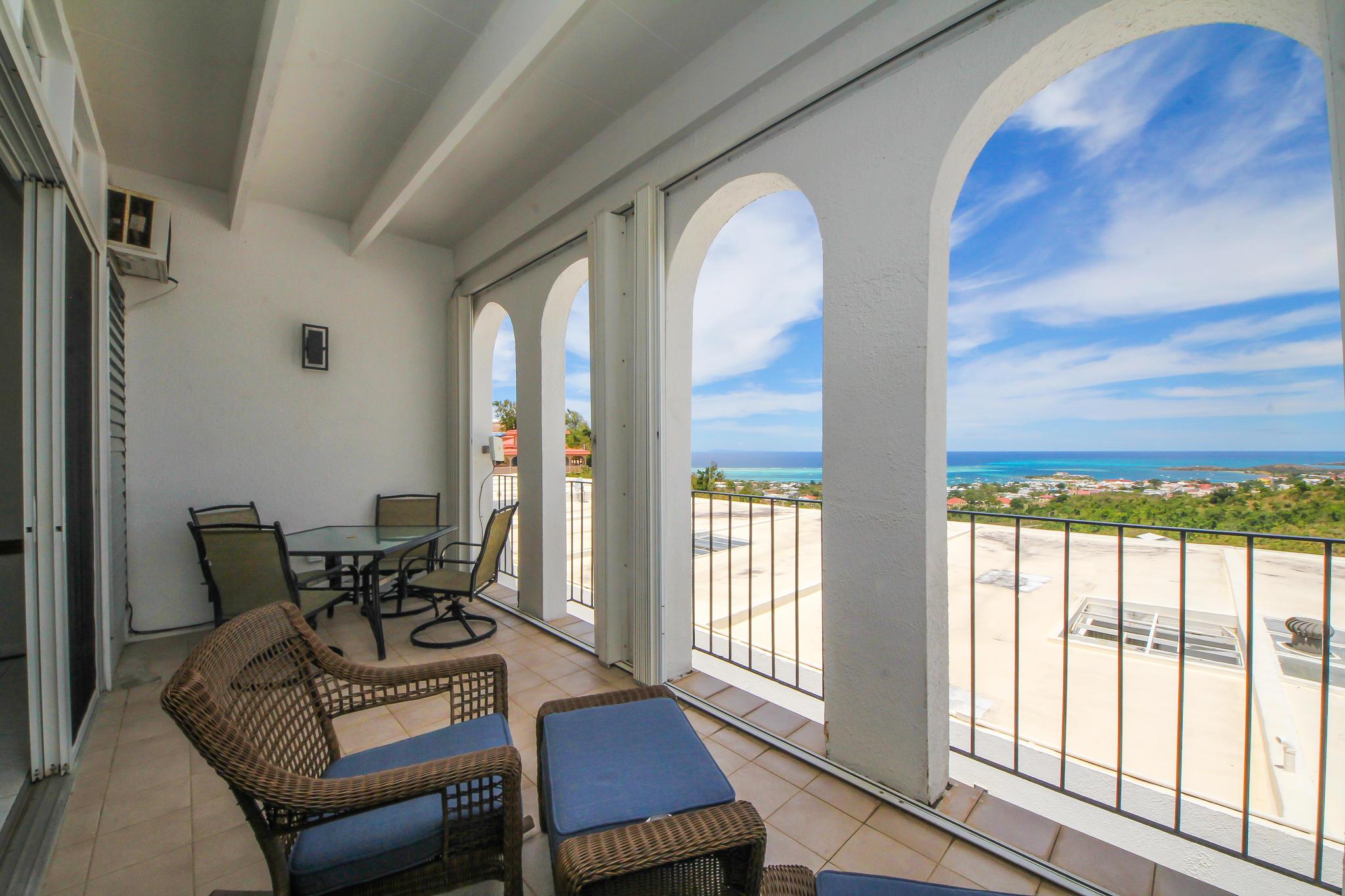 Porch & View
