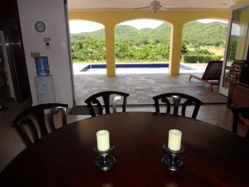 Dining Opens to Spacious Pool Area