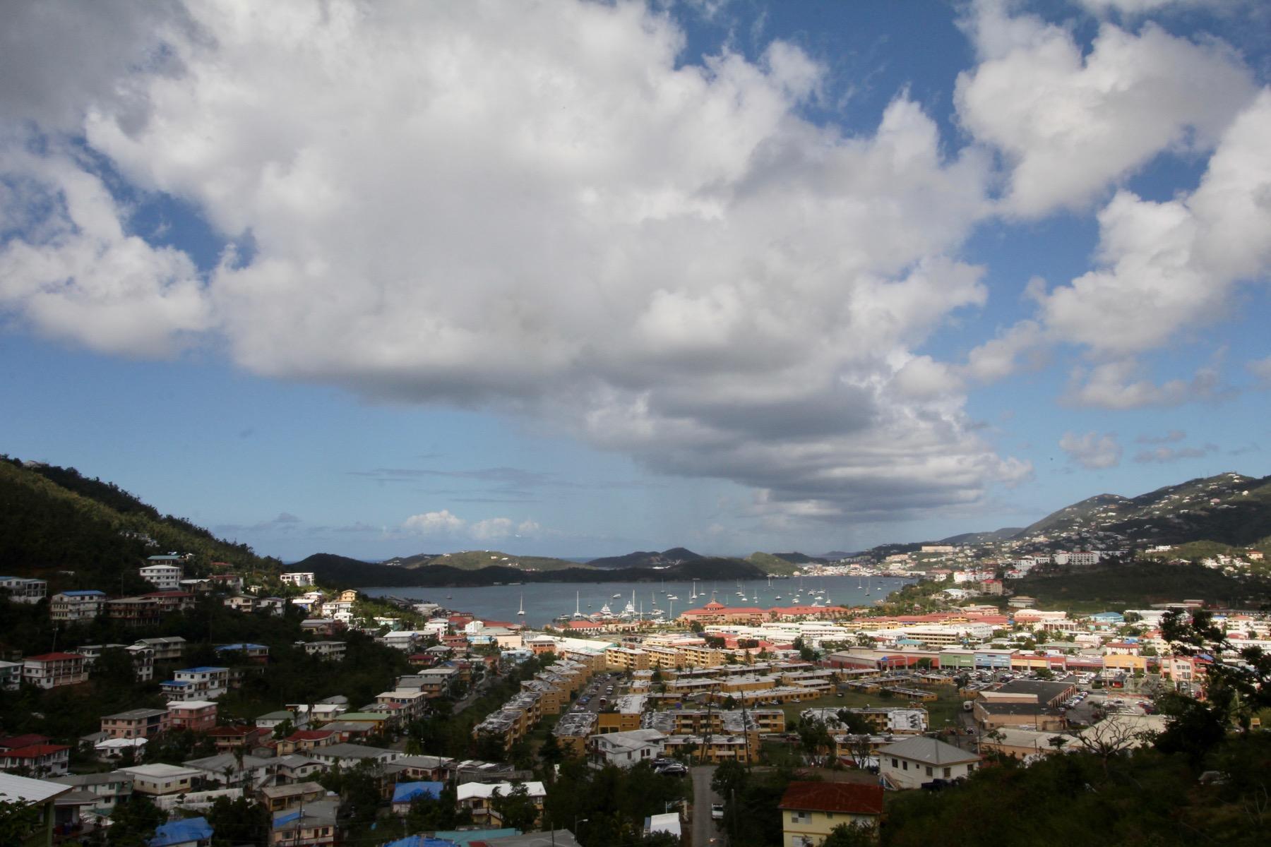 beautiful town/harbor view