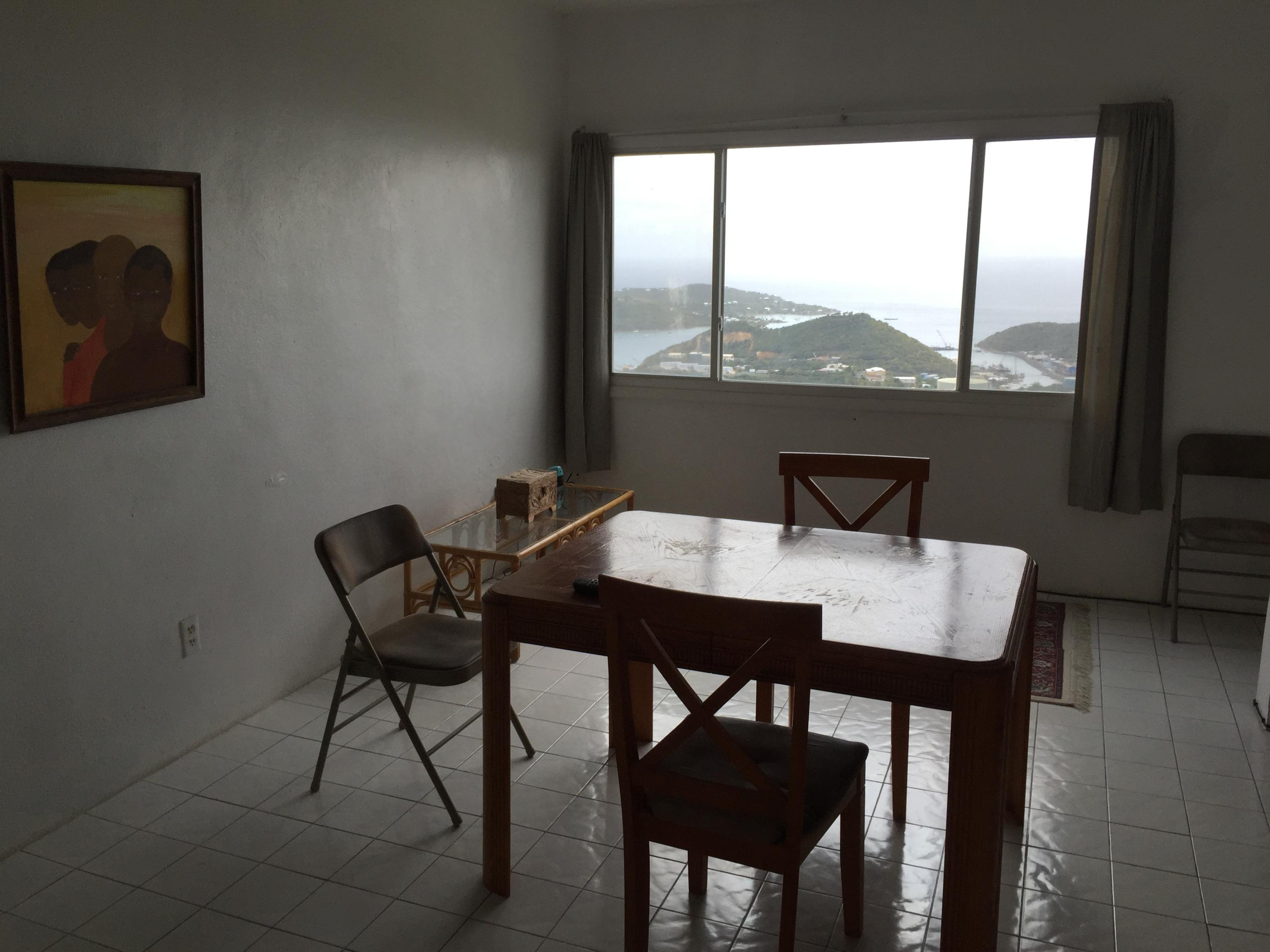 Living/Dining with a view!