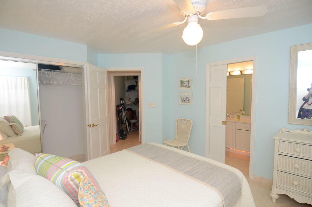 Bedroom 1 to hall & storage closet