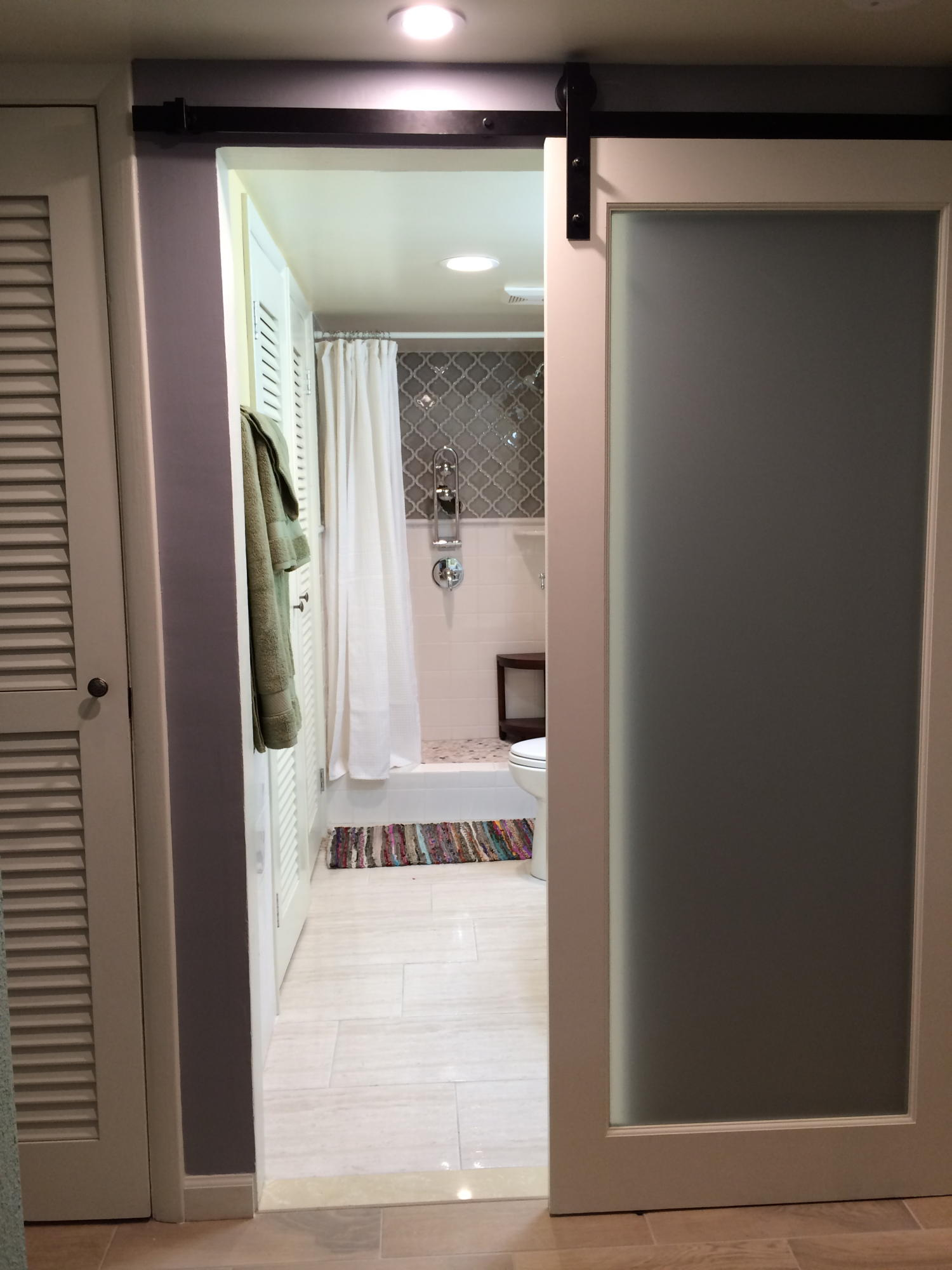 Guest Bathroom from Hall - freehander to