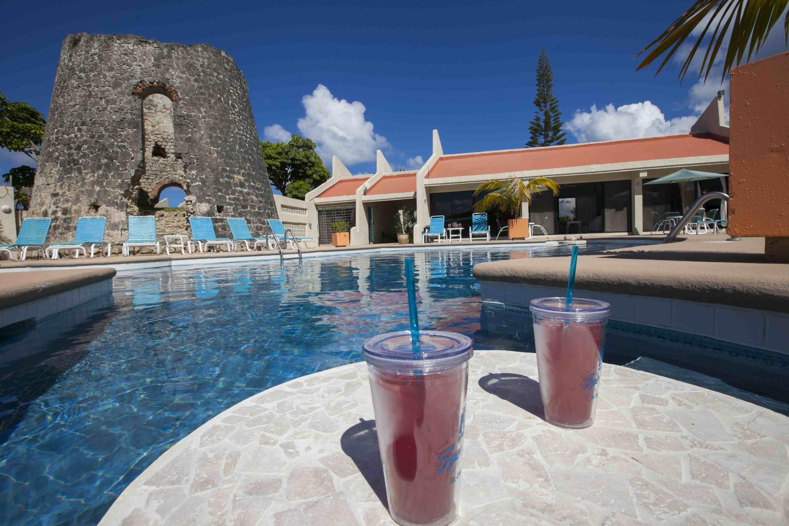 Pool - drinks and Sugar Mill