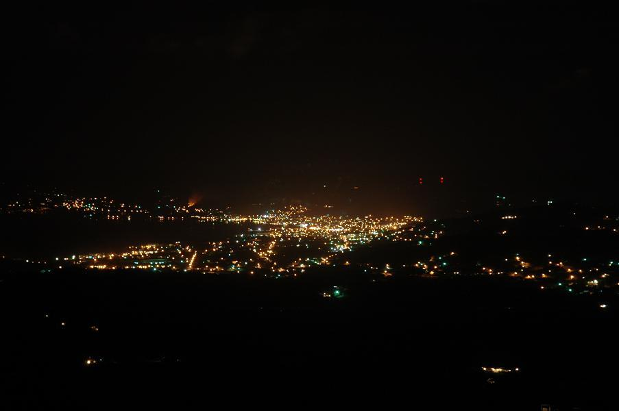 Christiansted at night view